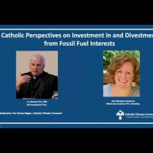 Embedded thumbnail for Catholic Perspectives on Investment in and Divestment from Fossil Fuel Interests